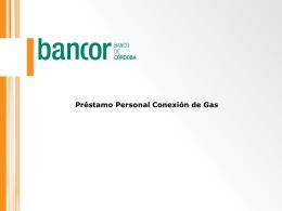 Prestamo Personal Conexion De Gas