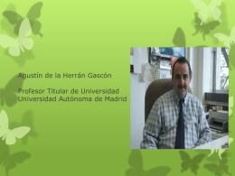 Dr. Agustín de la Herrán