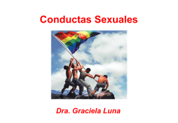 Conductas Sexuales