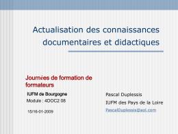 diaporama de Pascal Duplessis