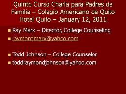 ProcesoApl_Univ - Colegio Americano de Quito