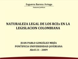 Seminario sobre desarrollos legales del mercado de