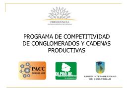 Plan de Refuerzo de la Competitividad