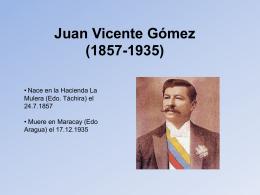 Juan Vicente Gómez (1857