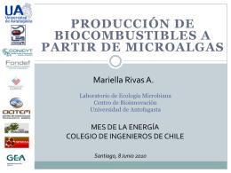 Laboratorio de Ecología microbiana Centro de Bioinnovación