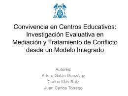 Convivencia en Centros Educativos: Investigación