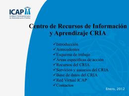 Centro de Recursos de Información y