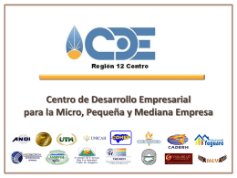 Centro del Desarrollo Empresarial y de Inteligencia de Mercados