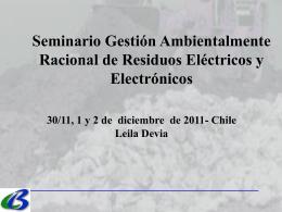 Convenio de Basilea (BCRC- Centro Regional Basilea Argentina)