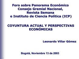 Centro de Información - Gerencia Técnica