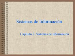Introducción a los sistemas de información en la empresa