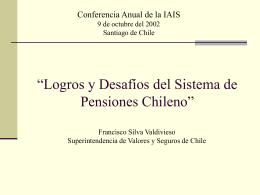 """""""Una Agenda de Reformas para el Sistema de Pensiones Chileno"""""""