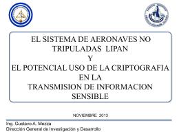 El sistema de aeronaves no tripuladas Lipan