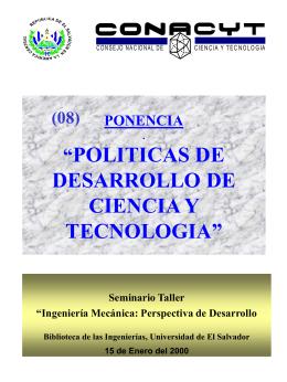 MODELO DE SISTEMA NACIONAL DE CIENCIA, TECNOLOGIA E