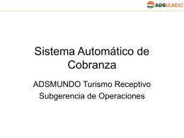 Sistema Automático de Cobranza