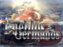 """Los pueblos germanos - ies """"río cuerpo de hombre"""""""