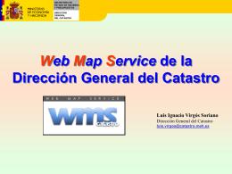 El sistema de información geográfico catastral