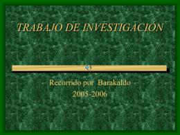 TRABAJO DE INVESTIGACÓN