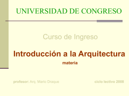 introduccion arquitectura clase 4