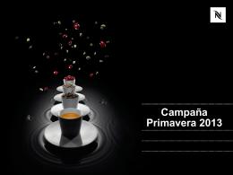 Campaña Primavera 2013