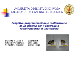 Presenta - Università degli Studi di Pavia