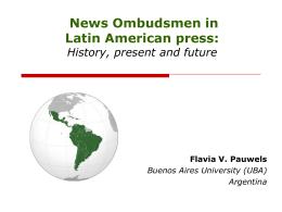 Defensores de lectores y oyentes en la prensa argentina: la