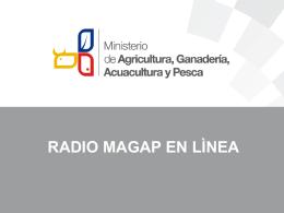 Radio Magap en lìnea