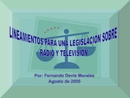 Ponencia Dr. Fernando Devis M. - Andina Link Virtual, la industria