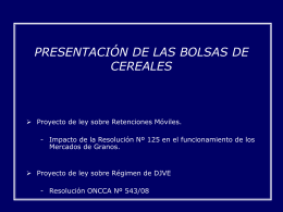 Presentacion Camara Diputados 2