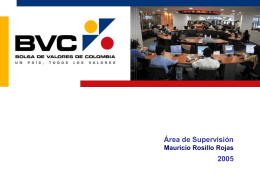 BVC - Superintendencia Financiera de Colombia