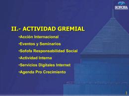 ver presentación Sr. Juan Claro (Acción Internacional)