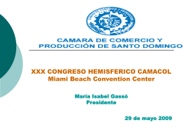 Solicitud CCPSD a CCI – Cámara de Comercio Internacional