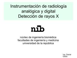 radiologia Daniel Geido - Núcleo de Ingeniería Biomédica