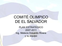 COMITÉ OLIMPICO DE EL SALVADOR