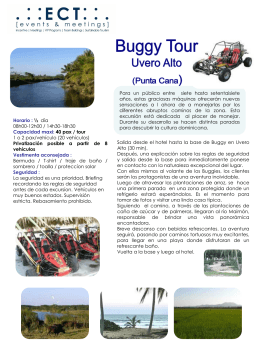 Buggy Tour Playa Macao