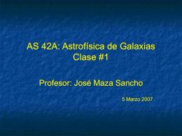 Sistema Solar Clase #1