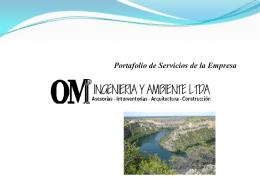 OM INGENIERÍA Y AMBIENTE LTDA - OM Ingenieria y Ambiente