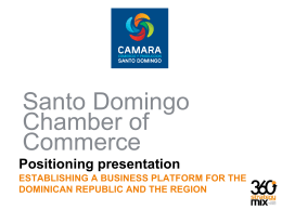 Santo Domingo Chamber Of Commerce