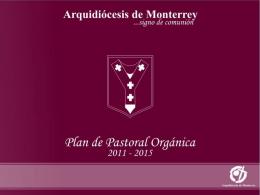 Resumen del Plan de Pastoral (Tercera versión)