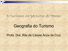 Aula 2 - Turismo no tempo