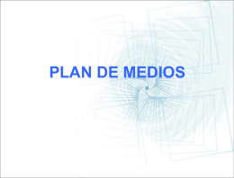 PLAN DE MEDIOS - MATERIASQUETZA