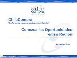 Qué es ChileCompra?