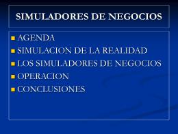 SIMULADORES DE NEGOCIOS