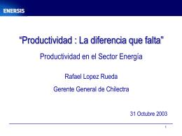 Documento apoyo Sr. Rafael López, gerente general