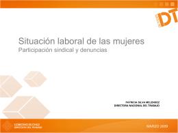 Diapositiva 1 - Dirección del Trabajo