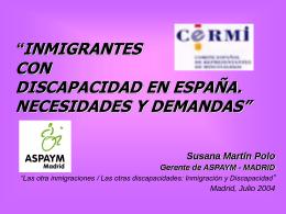 Comunicación de Susana Martín (ASPAYM)