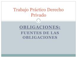 Trabajo Práctico Derecho Privado