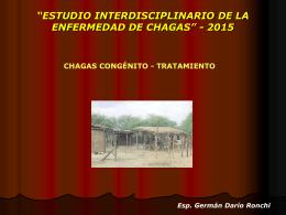 Clase Chagas congénito y tratamiento (2015)