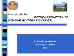MANEJO RPMO 2013 - CMP