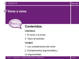 verso - Colegio Fuentelarreyna